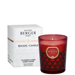 Amber Powder Clarity Scented Candle